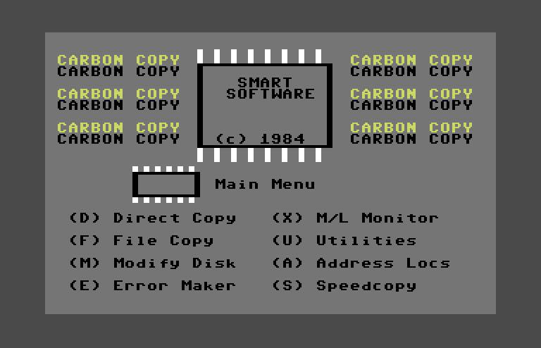 commodore software - Disk Copiers