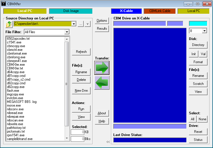 commodore software - Disk / File Transfer Tools