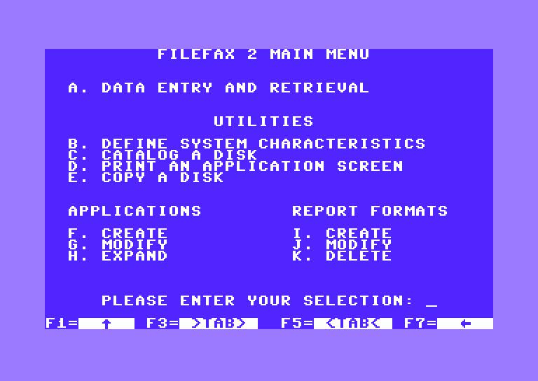 commodore software - File-Fax - Release 2